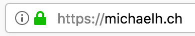 HTTPS bei michaelH webdesign