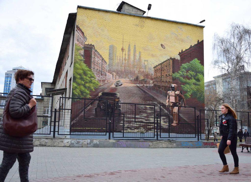 Ortsunabhängig arbeiten in der transsibirischen Eisenbahn