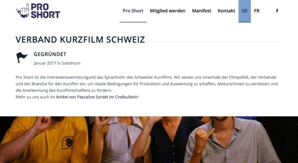 Pro Short Website nachher